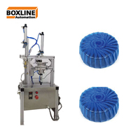 Toilet blue bubble cleaner block packaging machine