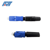 SC/UPC,SC/APC ftth fiber optic adaptor fast connector