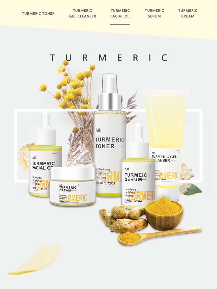 Hot!Best Skin Beauty Care Product Anti-Aging Turmeric Extract Face Oil Facil Oil