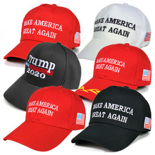 Free shipping 2020 American President Election Custom Trump Hat High Quality Trump Baseball <strong>Cap</strong> hat
