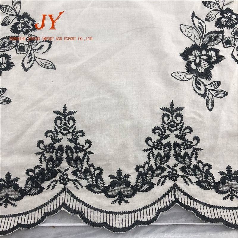 Bestway african lace manufacturer unique cotton flat embroidery polish dry swiss voile lace fabric