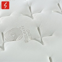 Sichou Different Models of pocket pillow top bed mattress and box spring set