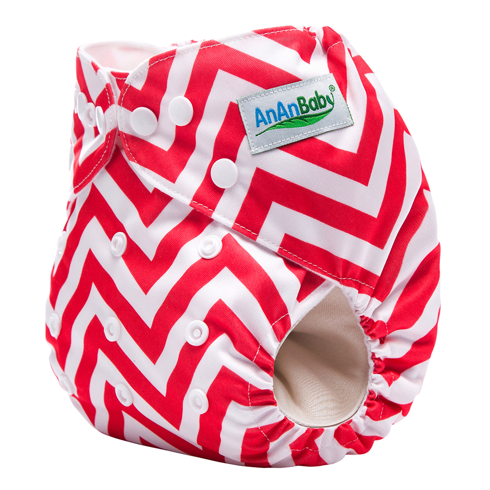 AnAnBaby <strong>Machine</strong> Printing Baby Diaper Breathable Pocket Cloth Nappy