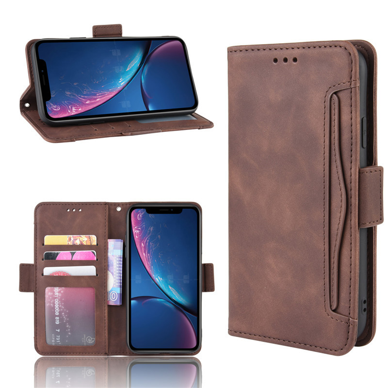Wholesale cell phone case ,wallet leather case, for iphone 6 case wallet flip card slot case