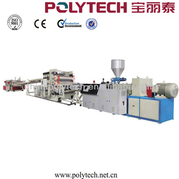 <strong>PE</strong>/PP/PS/PMMA/PC/ABS/PET single layer/multi-layer sheet extrusion/production line machinery