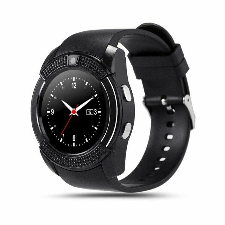 Smart Watch V8 Men Bluetooth Sport Watches Women Ladies Smartwatch with Camera Sim Card Slot Android Phone PK DZ09 Y1 <strong>A1</strong>