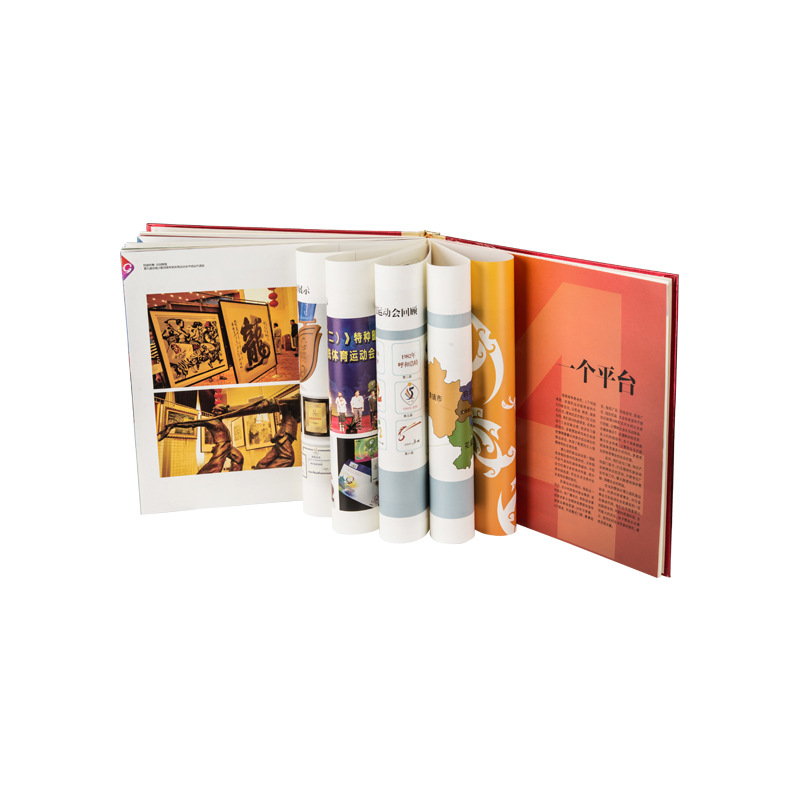 Customized hardcover catalogue picture book printing