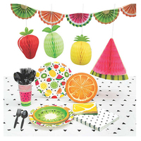 Kids Birthday Fruits Pineapple Theme Summer Luau Party Supplies With Party Favors Pinata