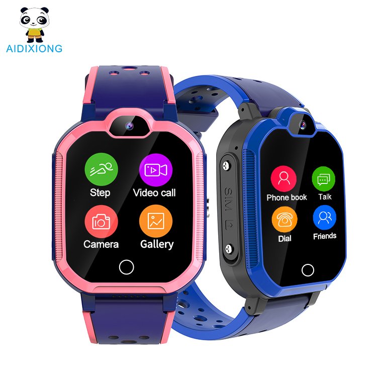 4G LTE Waterproof Kids GPS Running Smart Watch For Children Wrist Watch IP67 Android or IOS