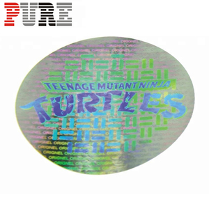 Cheap Custom Security Transparent sticker Hologram Label Paper Stickers Adhesive Sticker