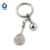 Promotion mini golf ball clubs key holder
