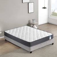 5 star hotel pocket/box spring mattress and bed base twin size mattress matratze colchones