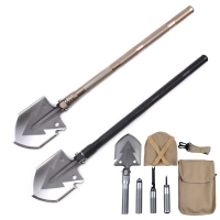 Wholesale Camping Survival Multifunctional Folding Engineer Shovel Military Shovel for Sale