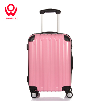 Aoweila Printed logo and pattern Suitcases Of luggage,customized cheap 202428 inch suitcase