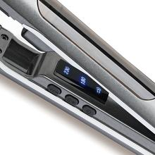 High Quality High-tech <strong>Best</strong> Salon Equipment Steam Spray LCD Display <strong>Hair</strong> <strong>Straightener</strong> Titanium Flat Iron Grey <strong>Hair</strong> <strong>Straightener</strong>