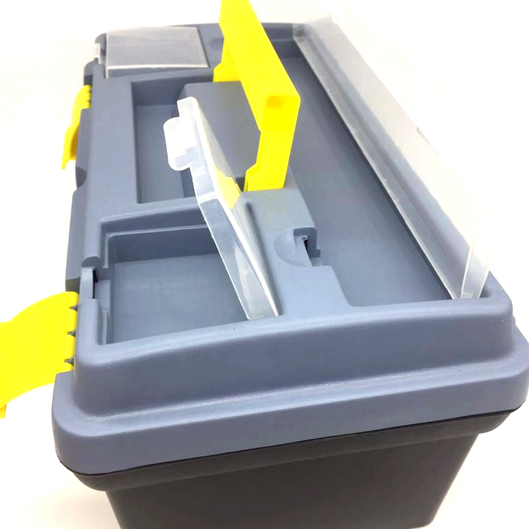 16&quot; <strong>plastic</strong> storage <strong>case</strong> with handle Toolbox Vehicle Maintenance Hand-Held Art Portable Hardware Storage Repair Tool Box <strong>Case</strong>