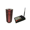 Guest Calling System Coaster pagers for restaurant queue services keypad with pager with charger base