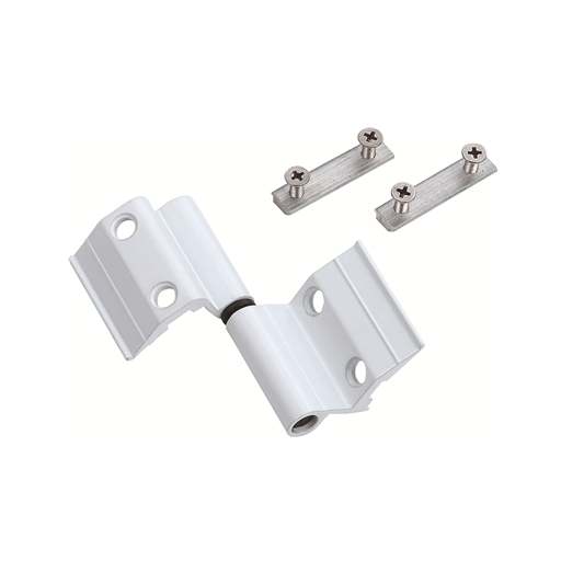 Hot sale powder coating aluminum 180 degree Hinge