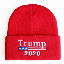 2020 Donald Trump Red Skullies Beanies Hat,Keep America Great Embroidery MAGA New <strong>Cap</strong>,Soft Acrylic Knit Beanie Winter Hat