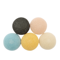 Konjac Sponge, Face Loofah Made of Hot Natural Konjac Fiber