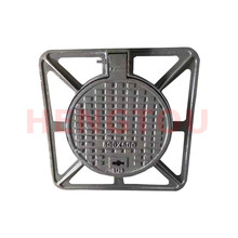 The cast <strong>iron</strong> made in China b125 500 * 600 recessed manhole cover