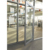 USA Aluminum Side Casement Door AS2047 Standard aluminum frame glass Hinged door