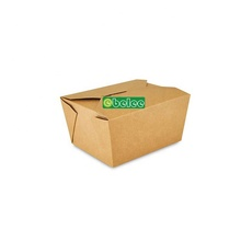 48oz 3# Brown <strong>Paper</strong> Food Box Wholesale