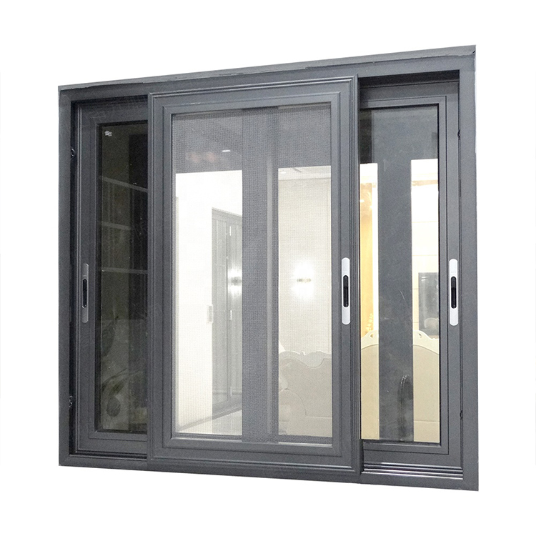 powder coated Sliding windows and doors with double glazed