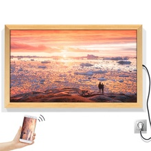 Great LH 2019 wall decor ultra-thin hd digital photo frame wallmount wifi picture frame screens