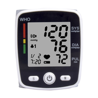 China Hot sale digital blood pressure monitor wrist watch medical devices equipment with Voice and Charging function