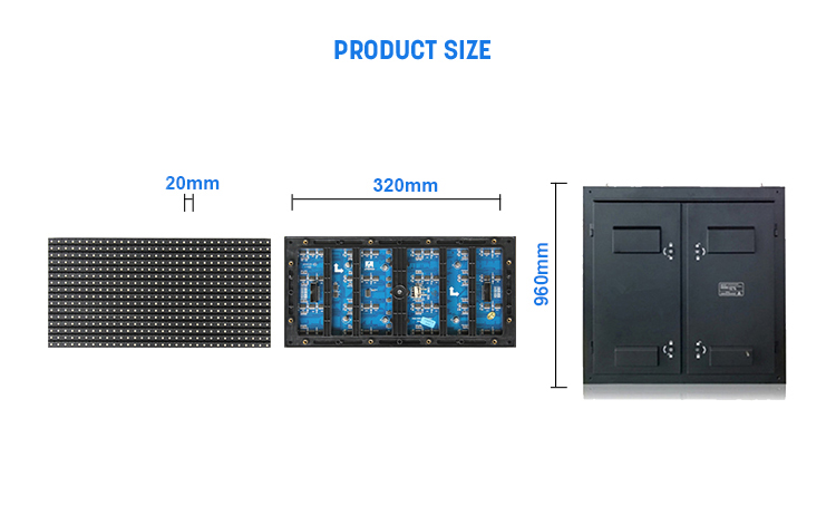 New design Full color HD advertising price led full colour outdoor p10 led display