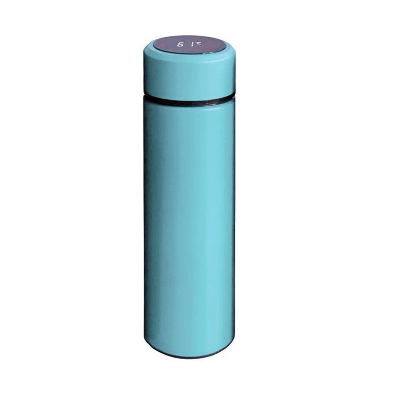 Zogifts touch temperature smart water bottle drinking 500ml