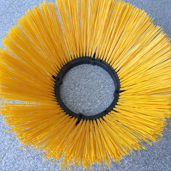 Small road gutter cleaning brush side broom with high quality and lower price
