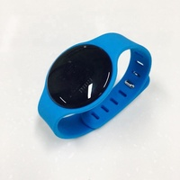 New product BLE beacon bracelet for kid ibeacon wristband broadcast device