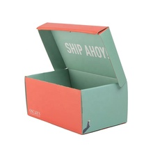 Red and green <strong>double</strong> fight best-selling new design fashionable <strong>paper</strong> packaging shoe box