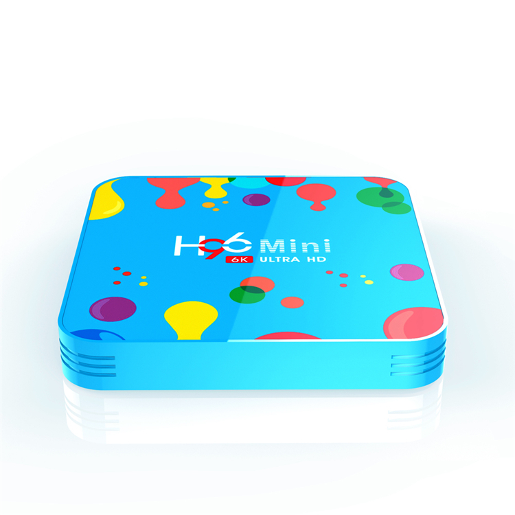 Shenzhen factory directly quad core android 9.0 DDR3 H96 <strong>mini</strong> h6 4GB 32GB tv box