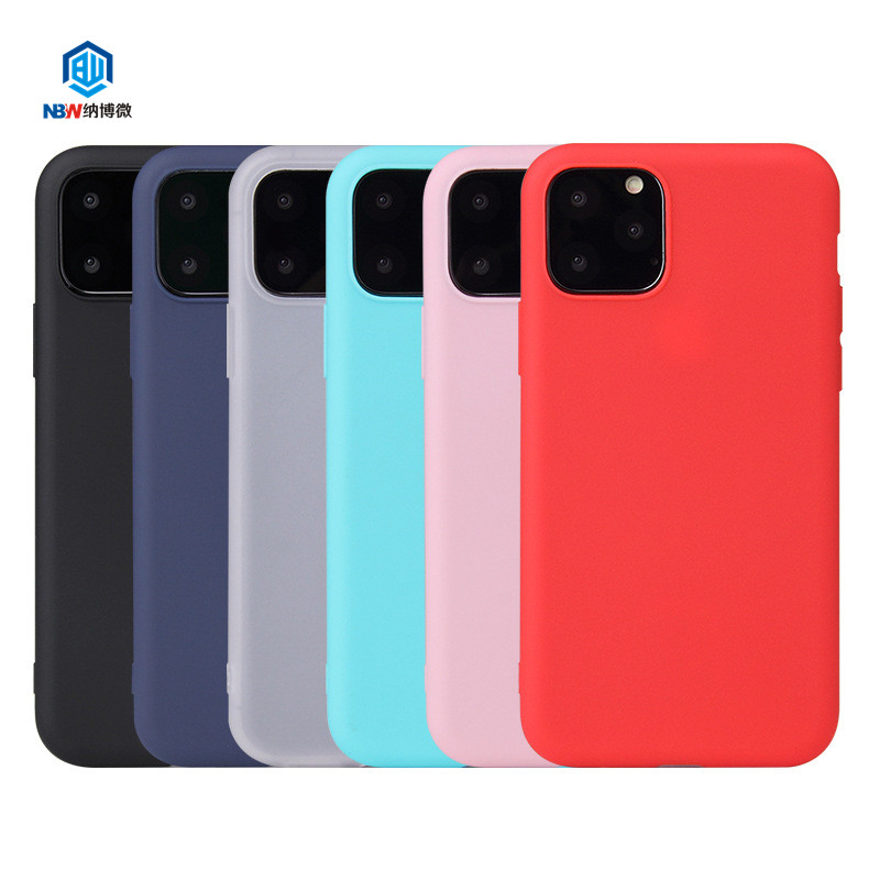 2019 High Quality Candy Colorful Silicone Tpu Phone Case For Iphone 6 6s 7 8 Plus X XR XS Max 11 Pro MAX phone case
