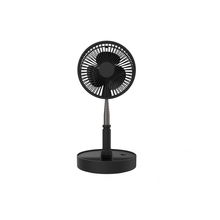Factory direct Creative telescopic folding USB charging <strong>fan</strong> Home desktop landing silent <strong>fan</strong>