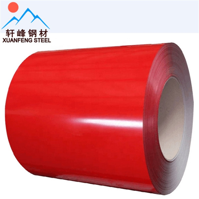 Prepainted galvanized coil/PPGI/Color Coated <strong>steel</strong>