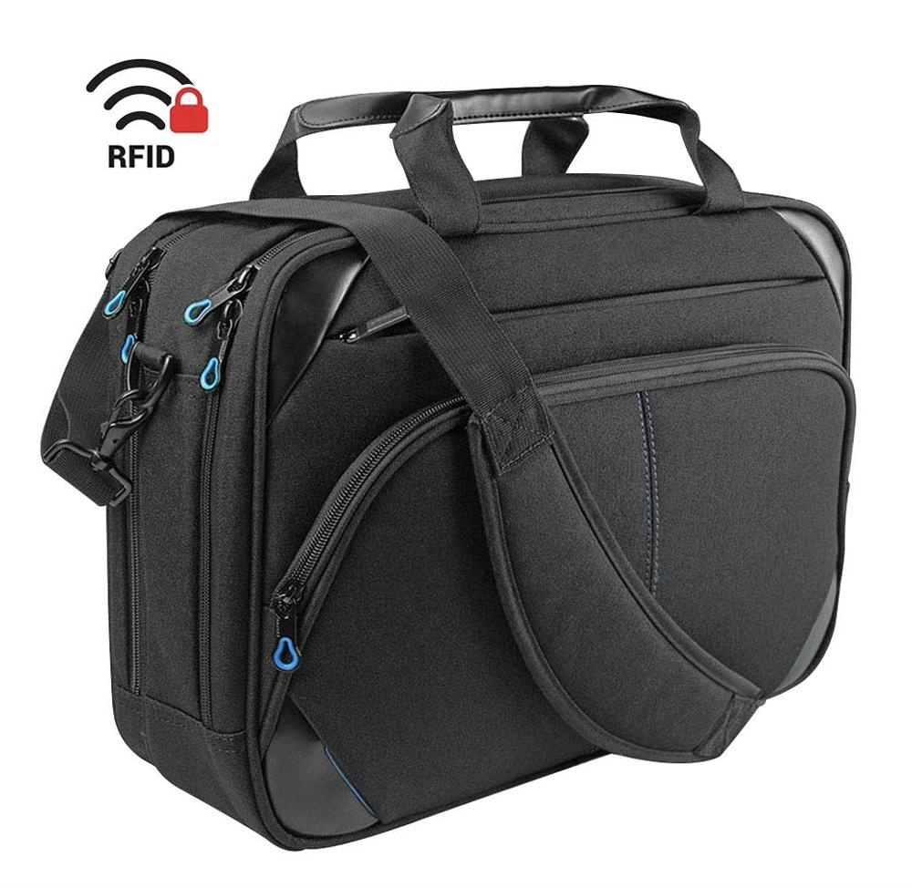 15.6 Inch Laptop Messenger Bag Water Repellent Computer <strong>Case</strong> Laptop Shoulder Bag