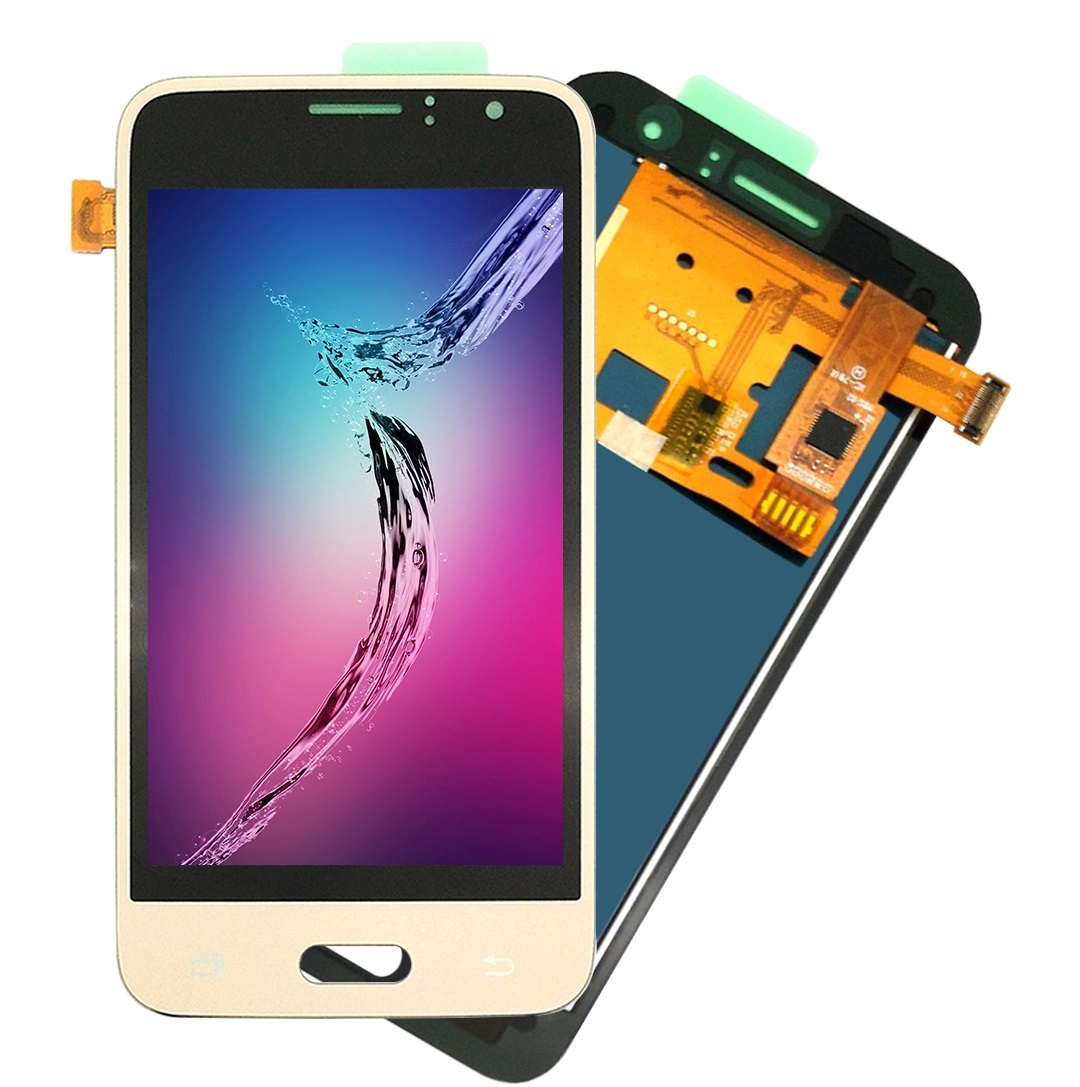 2020 Promotion Mobile Spare Parts Full LCD For Samsung J1 2016 <strong>J120</strong> J120F J120FN LCD Screen Display Complete