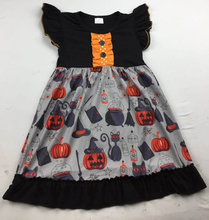 Halloween Girls Kids <strong>Dress</strong> For Fall <strong>Girl's</strong> Holiday Pumpkins <strong>Dress</strong> Clothing