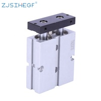zjsihegf airtac type TN cylinders double rod Shaft type Aluminium Alloy Pneumatic cylinder with air compressor