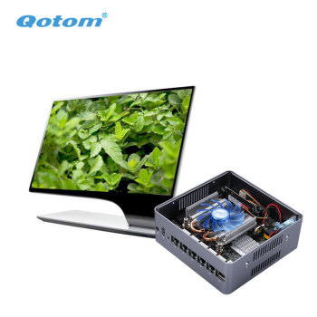 Qotom Mini PC Q600G6 with 6 Gigabit Ethernet NIC Support Intel 7th 6th processor for Router Firewall