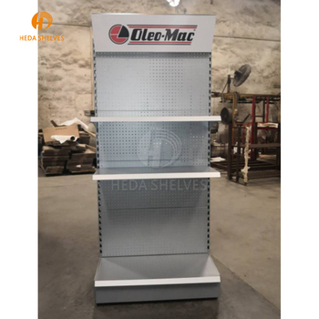 Metal Wire Display Rack For Power Tool , Hand Tool Storage Display Stand, Heaters Display Shelves