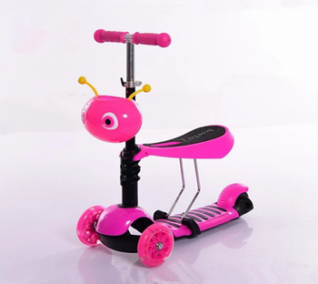 China wholesale good quality kids scooter 3 in 1 scooter for children