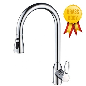 touch kitchen faucet pull out sink water touch faucet pull down kitchen tap