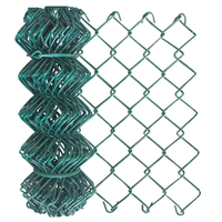 Hot Sale Hot Dipped Galvanized PVC Coated Metal Chain Link Fence In Pakistan