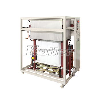 Koller DK05 Mini Direct Cooled commercial ice block machine 500kgs per day