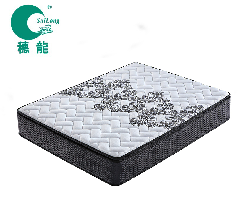 Bedroom Furniture Vacuum Compressed & Rolled in Box Hot Selling Pocket Spring Mattress - Jozy Mattress | Jozy.net